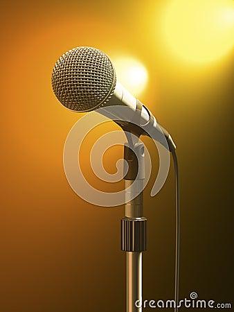 Free Microphone Stock Image - 11909141