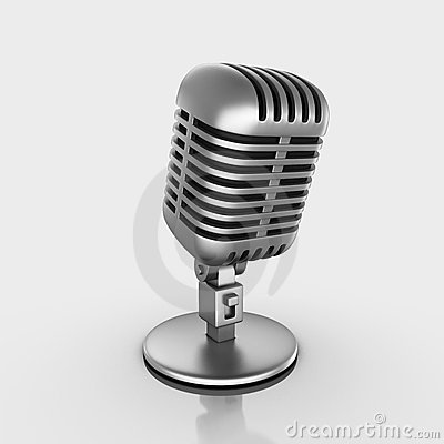 Microphone Stock Photo - Image: 21710260