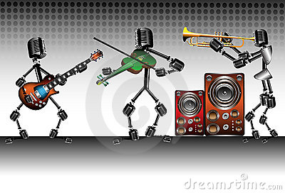The microphone band