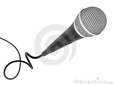 Microphone flying