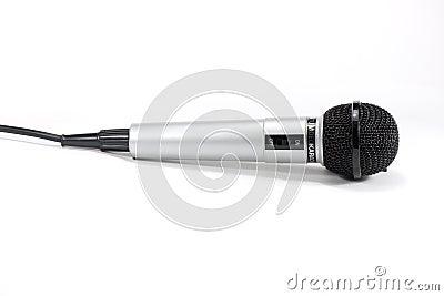 Microphone grey