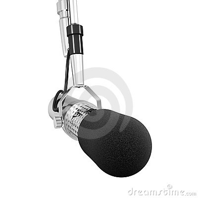 Free Microphone Isolated Stock Image - 4540531