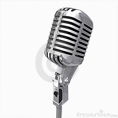 Free Microphone Isolated Stock Photos - 4550973
