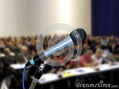Microphone at Seminar