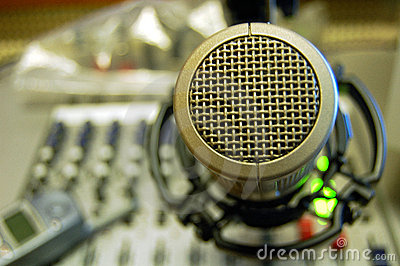 Microphone Sound Mixing Console