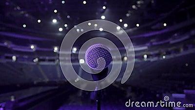 Empty concert arena