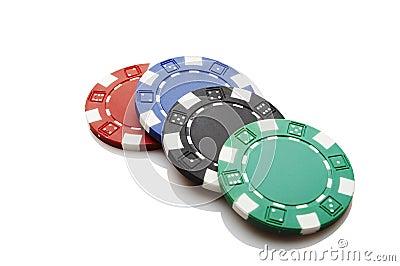 Microplaquetas do casino