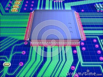 Composicoes tecnologia de microprocessador