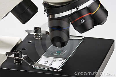 Microscope Royalty Free Stock Photos - Image: 18556208