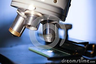 Microscope Close-up