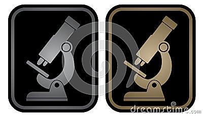 Microscope emblem