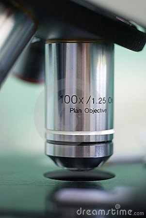 Microscope lens 100x