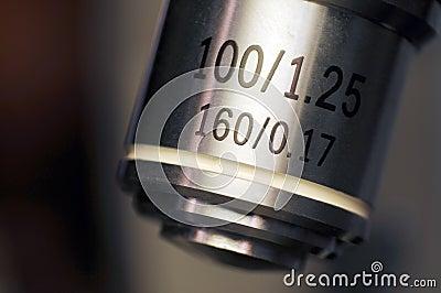 Microscope lens macro