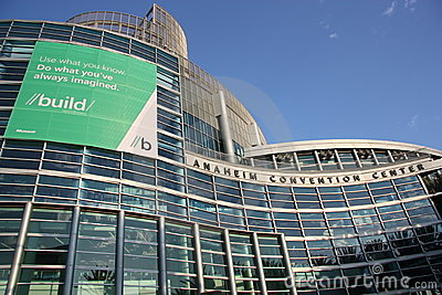 Microsoft Build Conference Editorial Stock Photo