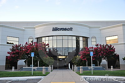 Microsoft building Editorial Photography