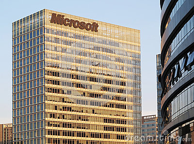 Microsoft Building Editorial Photo