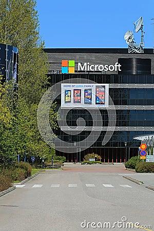 Microsoft Building In Salo, Finland Editorial Photo ...