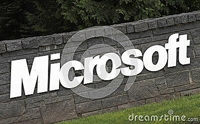Microsoft Corporation Editorial Stock Photo