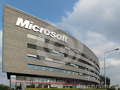 Microsoft Corporation headquarter, September 5, 2012 in Prague, Czech ...