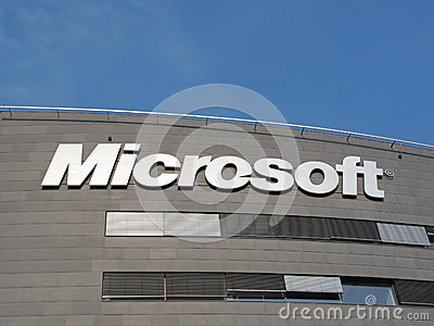 Microsoft Corporation headquarter Editorial Image