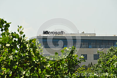 Microsoft corporation office building Editorial Photography
