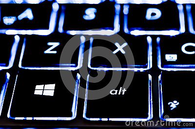 Microsoft Keyboard Editorial Photo
