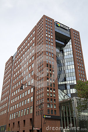 Free Microsoft Office Building At MIT University Boston Stock Photo - 75609720