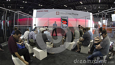 Microsoft TechEd Conference 2012 Editorial Photography