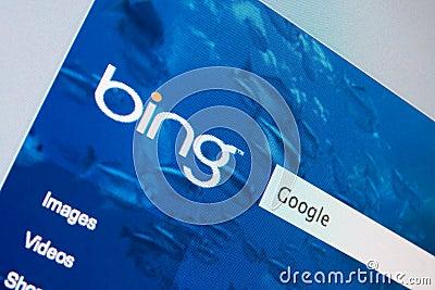 Microsoft versus Google Editorial Stock Image