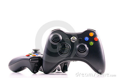 Microsoft xbox Game Controller Editorial Stock Image