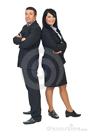 Mid adults executive people