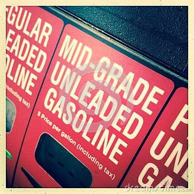 Free Mid-grade Unleaded Gasoline Stock Photography - 49667272