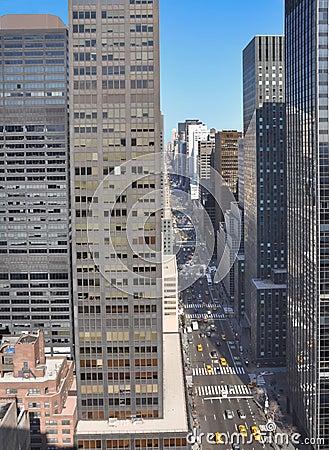 Free Mid-town Manhattan Cityscape Stock Image - 8598661