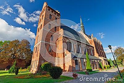Middeleeuwse Kerk Fara in Swiecie