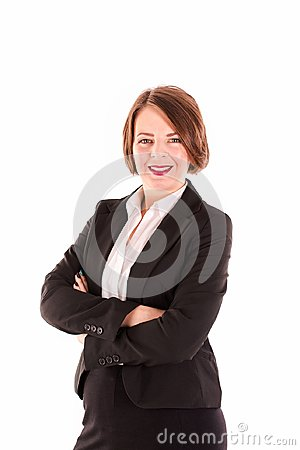 Free Middle Aged Business Woman Stock Image - 111511631