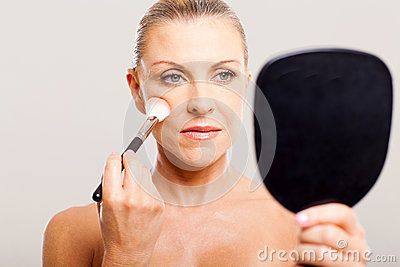 Middle Aged Makeup Stock Photography - Image 29801462