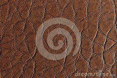 Middle brown leather texture