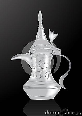 Middle Eastern Arabic Coffee Pot