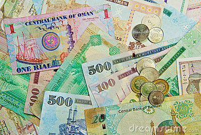 Middle Eastern Currency
