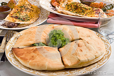 Middle eastern pita bread