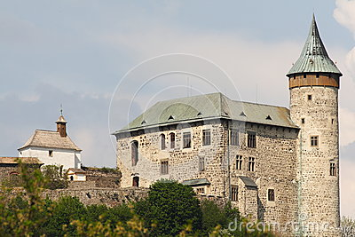 Middleage castle