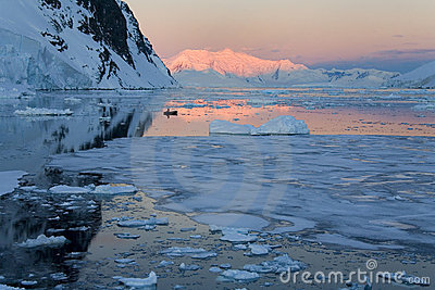 Midnight Sun - Antarctica