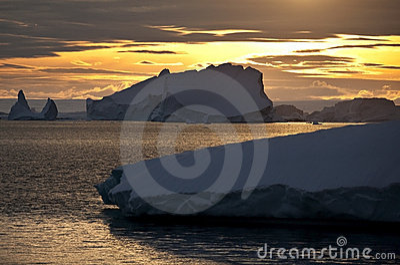 Midnight Sun - Greenland