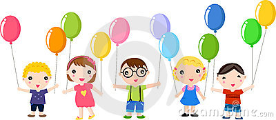 Miúdos felizes