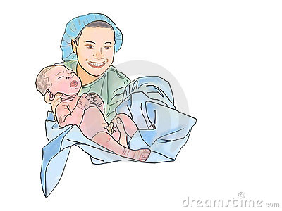 Midwife Clipart