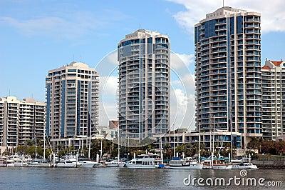 Mieszkanie luksusu rzeki