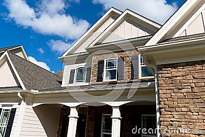 Mieszkaniowa domowa powierzchowność