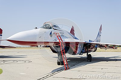 Mig-29 Editorial Photography