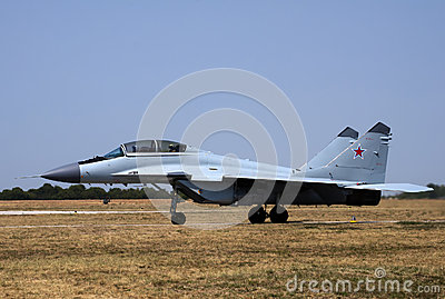 MIG-29 M-2-5 Editorial Stock Photo