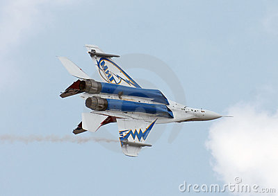 MIG-29 OVT Editorial Stock Image
